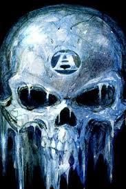 iced skull wallpaper free