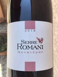Serre Romani Mourvédre | Wine Info