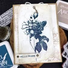 Hello Friend Card by Bobbi Smith
