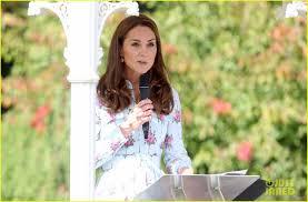 Duchess Kate Middleton Makes a Speech ...