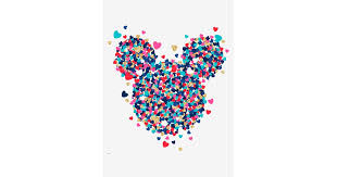 Disney Mickey Mouse Heart Confetti Peel Stick Giant Wall Decal The Ultimate Gift Guide For Adults Who Love Disney All 75 And Less Popsugar Smart Living Photo 15
