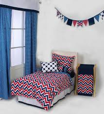 mix n match blue and red zigzag 4