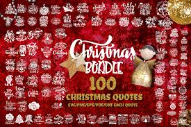 christmas svg bundle set of quotes new year