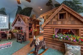 Log Cabin Kids Bedroom Houzz