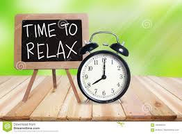 time to relax motivational text stock photo image of bokeh