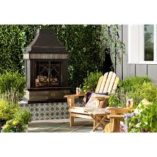 slagle steel stone wood burning outdoor