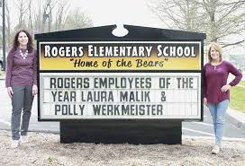 Congratulations to Laura Malik and Polly... - Rogers Elementary | Facebook