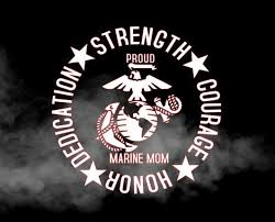 Proud Marine Mom Decal Proud Marine Dad Decal Proud Marine Etsy In 2020 Marine Mom Marine Dads Marine