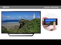 how to use screen mirroring sony au