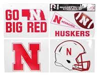Nebraska Cornhuskers Stickers Decals Magnets