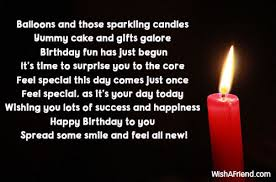 balloons and those sparkling candles yummy cute birthday quote