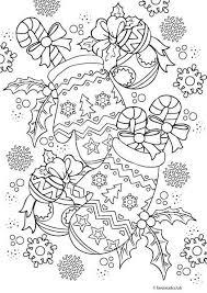 Christmas Joy Wanten Kleurplaten Voor Volwassenen Om Af Te