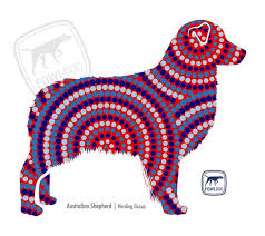 Australian Shepherd Decal Fowl Dog