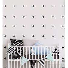 Swiss Cross Removable Wall Stickers Vinyl Decal For Home Kids Room Or Nursery