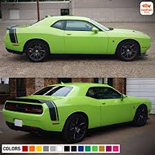 Amazon Com Gold Fish Decals 1x Full Stripe Kit Decal Sticker Graphic Compatible With Dodge Challenger R T Srt 2008 2016 Automotive