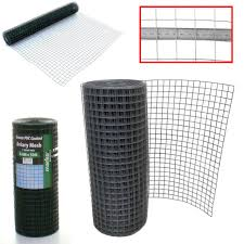 1 600mm X 50m Roll The Mesh Company Chicken Rabbit Wire Mesh Animal Fence Galvanised Steel
