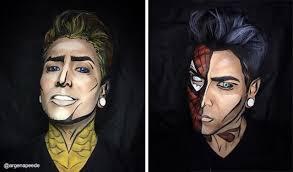 superhero makeup by argenis pinal