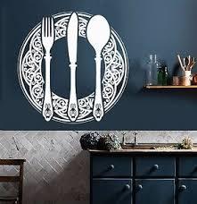 Vinyl Wall Decal Dining Room Decoration Kitchen Restaurant Stickers 736ig Ebay
