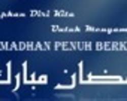 kata mutiara menyambut ramadhan bahasa inggris