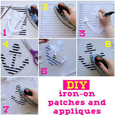 Diy Iron On Patches And Appliques Diy Patches How To Make Patches Fabric Crafts Diy