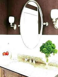 small oval bathroom mirror mirrors