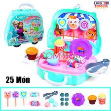 Đồ Chơi Trẻ Em - Chiếc Xe Bán Bánh Kẹo , Bán Kem - Bộ Đồ Chơi Bán Đồ Dành  Cho Bé WD-S34