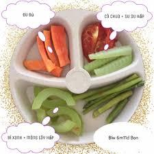 Thực đơn ăn dặm BLW cho bé 6 tháng chi tiết 30 ngày từ khi mới bắt đầu