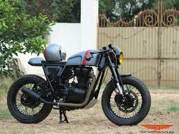 royal enfield continental gt modified