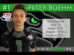 Peter Boehm - 2016 Football Highlights - YouTube