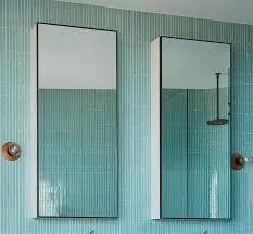 wood bathroom mirror cabinet whitewash