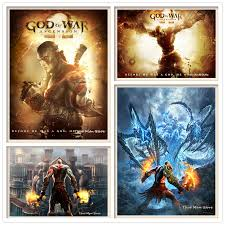 God Of War Posters High Definition Wall Stickers Home Decoration For Livingroom Bedroom Home Art Brand Wall Stickers Aliexpress