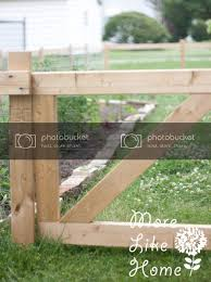 More Like Home 2x4 Garden Fence