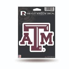 Up To 22 Off On Texas A M Aggies Die Cut Deca Groupon Goods