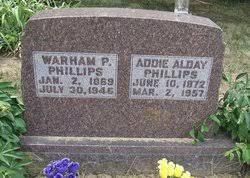 Addie Alday Phillips (1872-1957) - Find A Grave Memorial