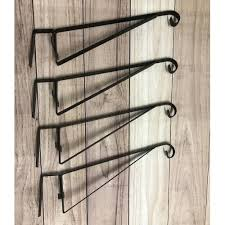 Hanging Basket Brackets For Wooden Fence Panels Set Of 4