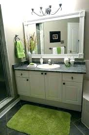 frame bathroom mirror