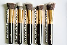 bh cosmetics face makeup brushes set
