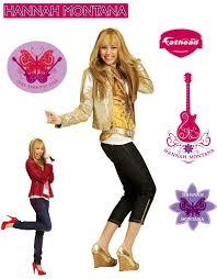 Hannah Montana Disney Pop Star Large Wall Accent Decal Obedding Com