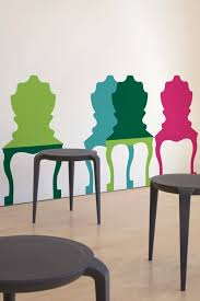 The Blik Chair Mix A Lot Wall Decal 40 For Six Is Not A Chair To Trend Alert Trompe L œil Chairs Popsugar Home Photo 5