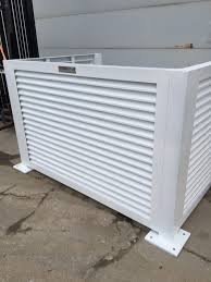 Hvac Ac Equipment Secured Enclosures Don T Sweat Your Copper Palmshield