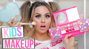 full face using only kids makeup tutorial