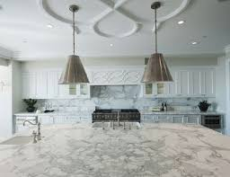 clean marble countertops with baking soda