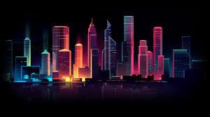 cityscape skyscaper buildings city