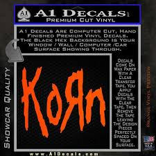 Korn Band Decal Sticker A1 Decals