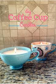 diy coffee cup candles