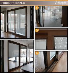 patio glass sliding door double