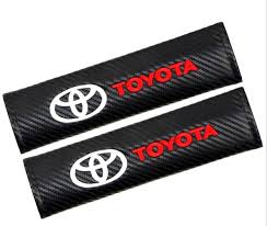 toyota carbon feel seat belt cover