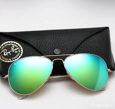 ray ban aviator colored mirror sunglasses