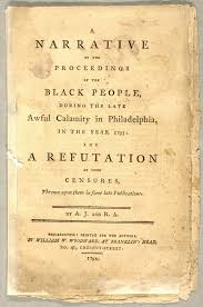 Narrative of the Proceedings of the Black People by Richard Allen and Absalom  Jones | The Abolition Seminar
