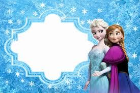 Frozen Tarjetas O Invitaciones Para Imprimir Gratis Ideas Y Material Gratis Para Fiestas Y Celebraciones Oh My Fiesta